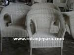 Kursi Indah untuk Apartemen Rotan Jepara