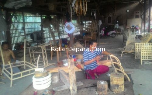 Workshop Frame Natural Rattan
