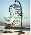 Rustic Hanging chair for cluster