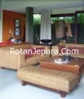 Sofa Cantik Kamar Tamu set rotan jepara