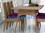 Exclusive dining table synthetic rattan