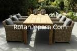 Kursi Makan Set Villa Kobo Grey