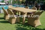 Meja makan set untuk restaurant