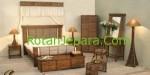 Kamar Tidur Set Furniture Rotan