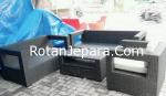 Sofa Anyaman rotan sintetis funiture hotel