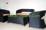 Sofa rotan sintetis Set untuk hotel