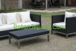 Synthetic Sofa Set Apartement