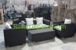 Synthetic Sofa Set Furniture Rotan