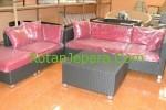 Synthetic Sofa Set Hotel Berbintang lima