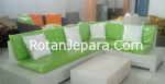 Kursi Anyaman Rotan sintetis untuk hotel dan apartemen