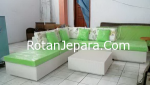 Kursi Cluster kamar tamu set furniture sintetis