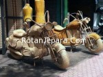 Harley Davidson Anyaman rotan Craft