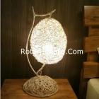 Lampu Hias Rotan untuk kamar hotel