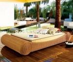 Tempat Tidur Rotan Elegant untuk Hotel