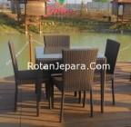 Dining chair set for outdoors order danau resto