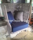 Sofa Elegant Anyaman Rotan Core Tali Sepatu