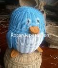 Souvenir Penguin Rotan Murah Meriah