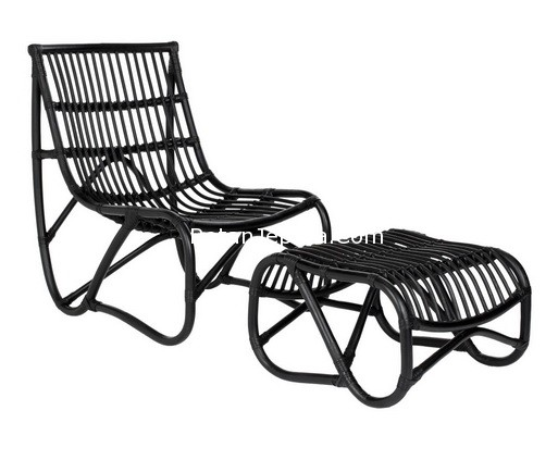 Lounge Black Rattan Furniture
