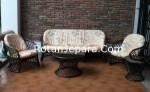 Sofa Rattan Set Furniture Hotels