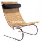 Rattan Lounge Chair Replika Export Singapore