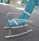 Rocking Chairs Wicker Syntetic Apartment Furniture