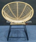 Rattan iron chairs mixed pontianak hotel project