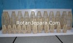 Various natural rattan lamps for overseas hotels and apartments