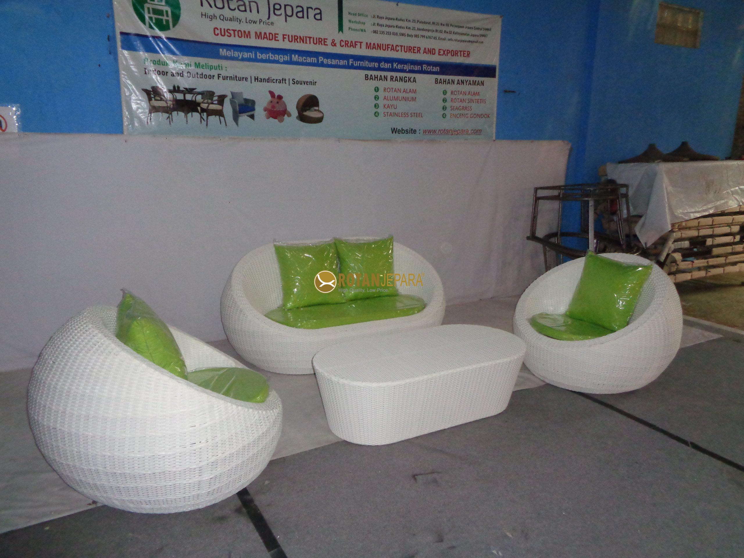 Alenia Round Sofa set beach Furniture