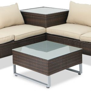 Corner Living Garden Furniture Dubay