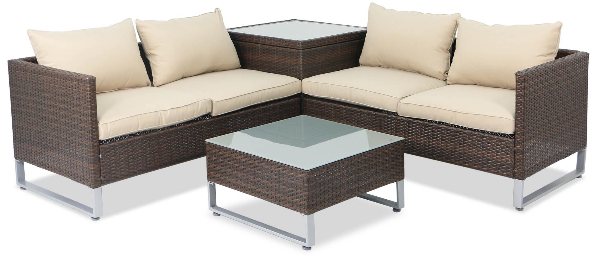 Corner Living Garden Furniture Dubay