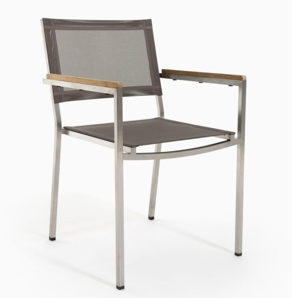Marina Stacking Chair Batyline Sling Furniture Outdoor