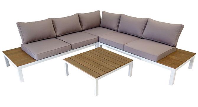 UAE Aluminum Corner Modular Sofa Outdoor