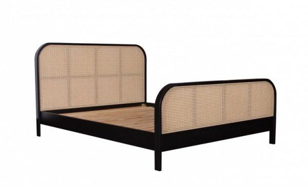 Corona Bed Natural Rattan