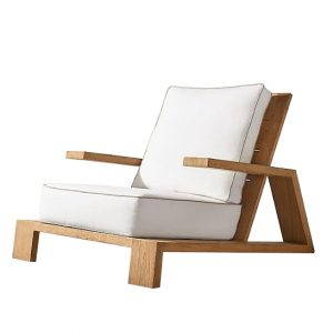 Santana Teak Chat Chair Outdoor Furniture