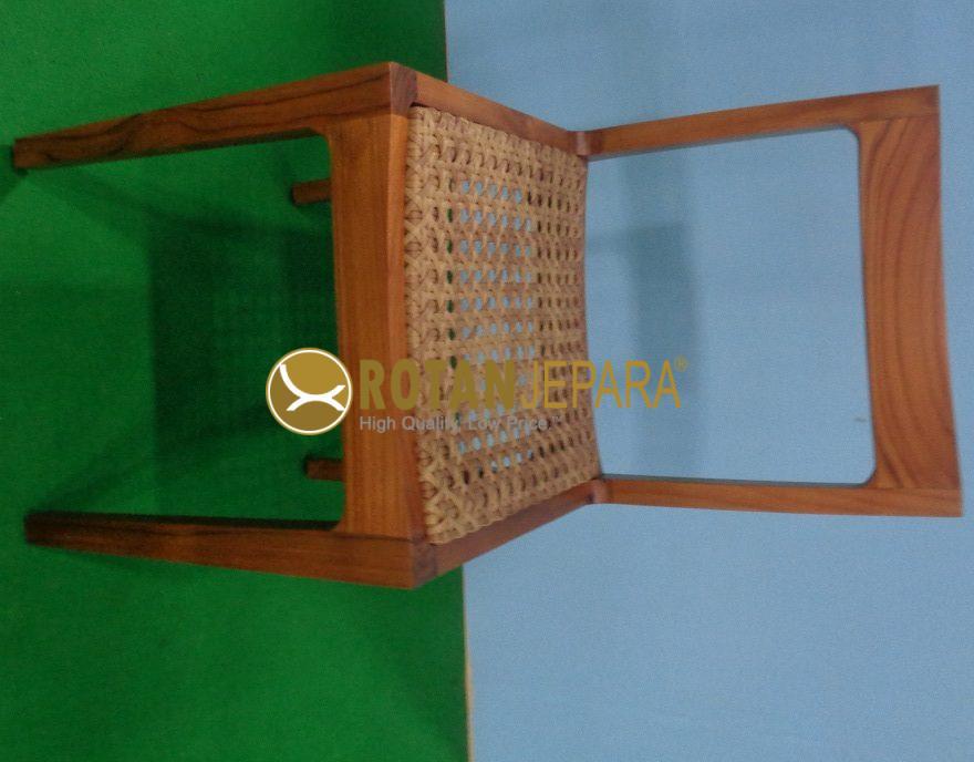 Australia Teak Wicker Side Chair
