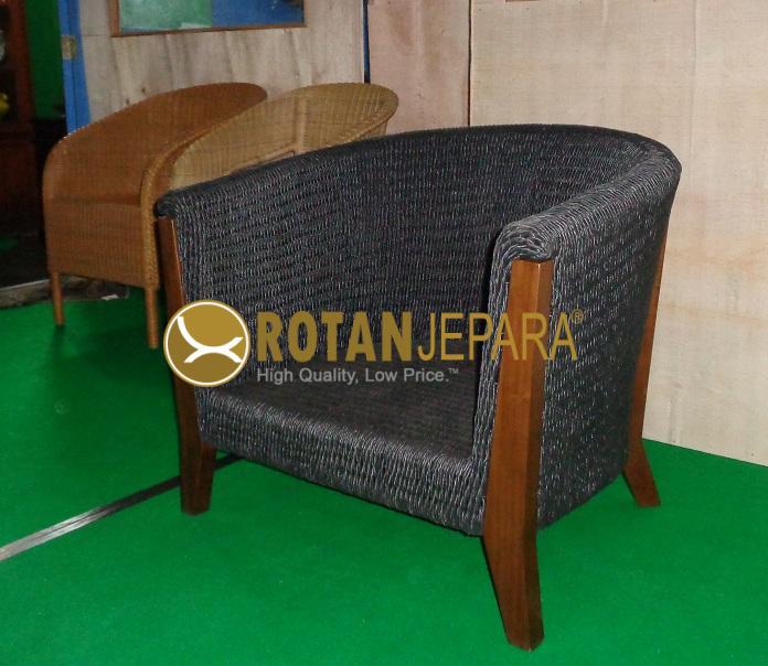 Belgium Chat Chair Teak Wicker Furniture