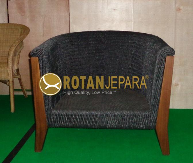 Gorge Chat Chair Teak Wicker Outdoor Hotel