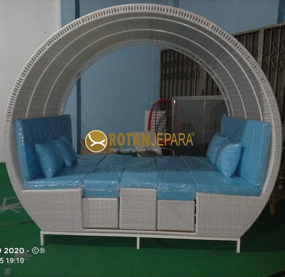 Gorge  Gazebo Patio Teak Wicker Furniture