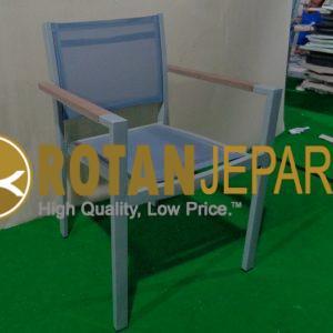 Lonte Sling Arm Chair Batyline Furniture Outdoor