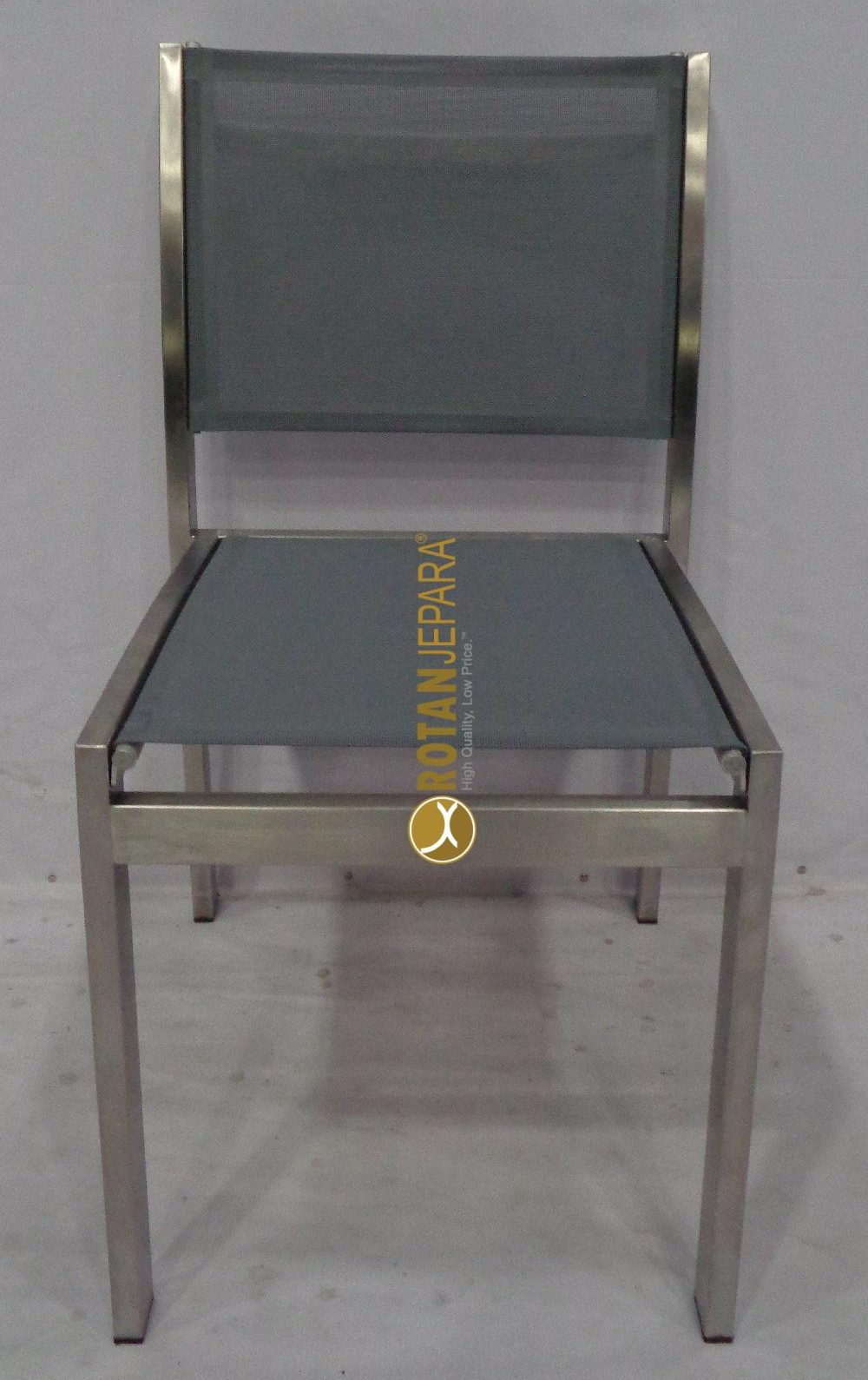 Loredo Chair Stainless mixed sling apartment furniture
