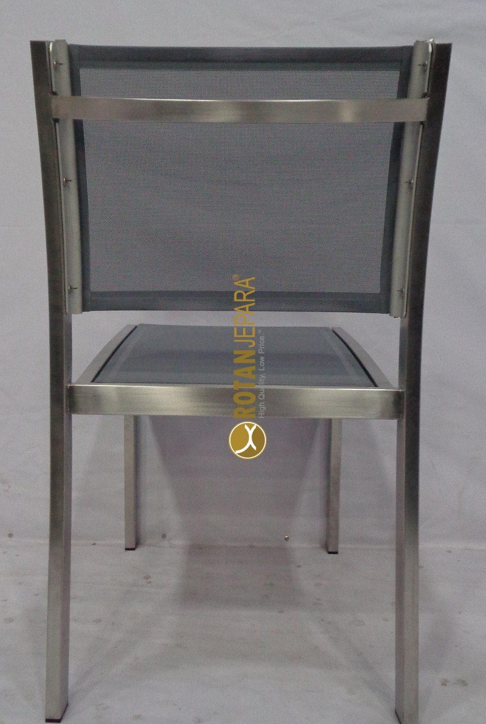 Loredo Side Chair Stainless batyline furniture