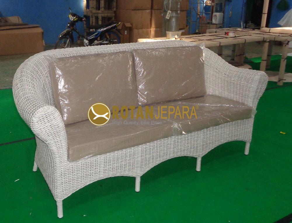 Lorena Wicker Sofa Outdoor Furniture