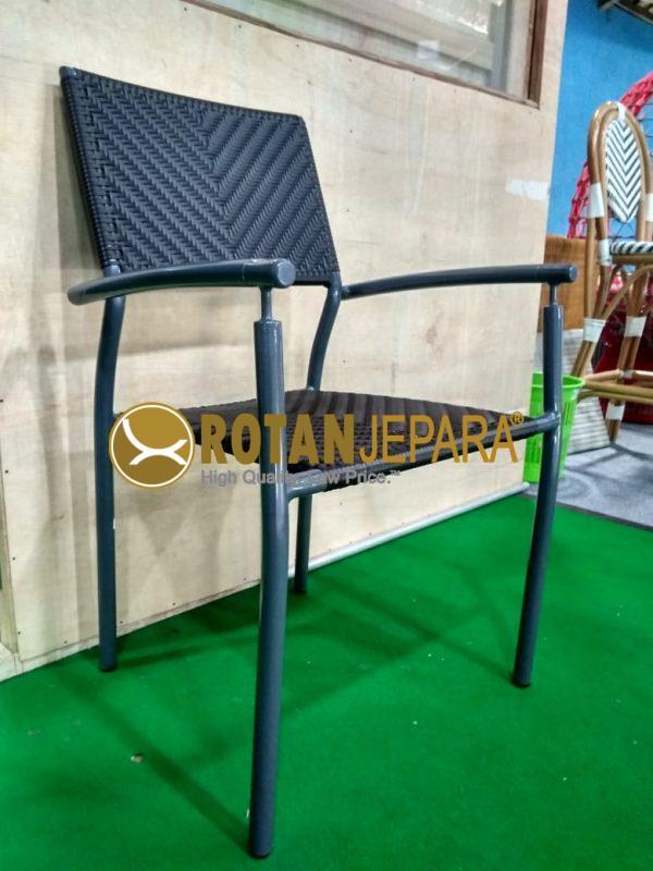 Lotte Arm Chair Aluminum Wicker Furniture