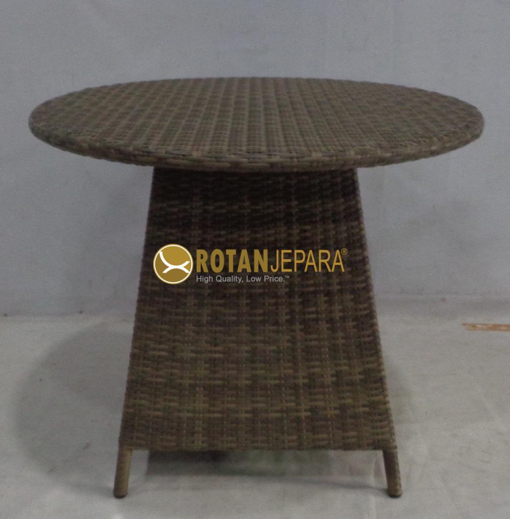 Maldives Table Wicker Outdoor Hotel Furniture