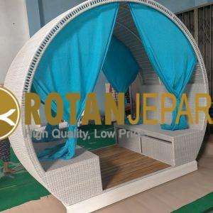 Roseline Gazebo Teak Wicker Furniture
